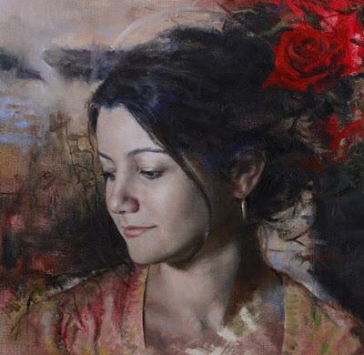 Pintura de mujer