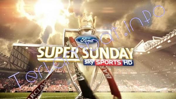 Jadwal Super Sunday 2013 Liga Inggris