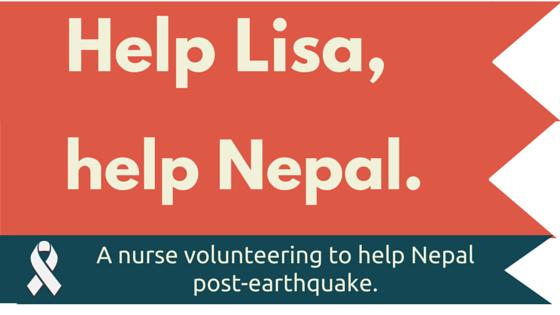 Help Lisa, help Nepal.
