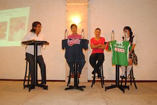 """Mesa de Trabajo;  """"Mujeres en el Deporte"""" 2011"""