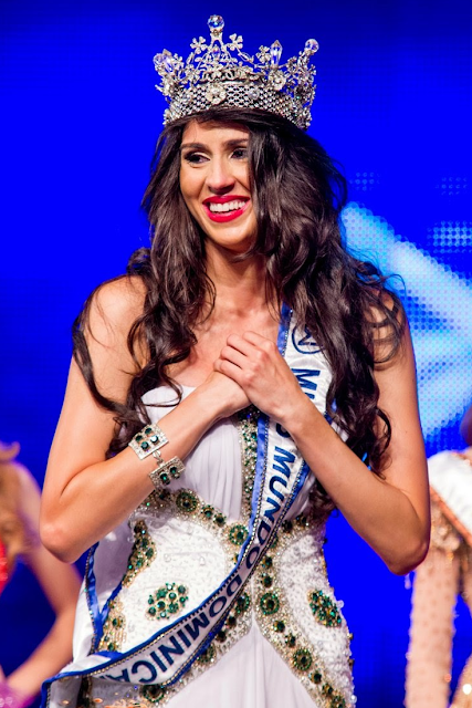 Miss World Mundo Dominican Republic 2013 winner Joely Bernat