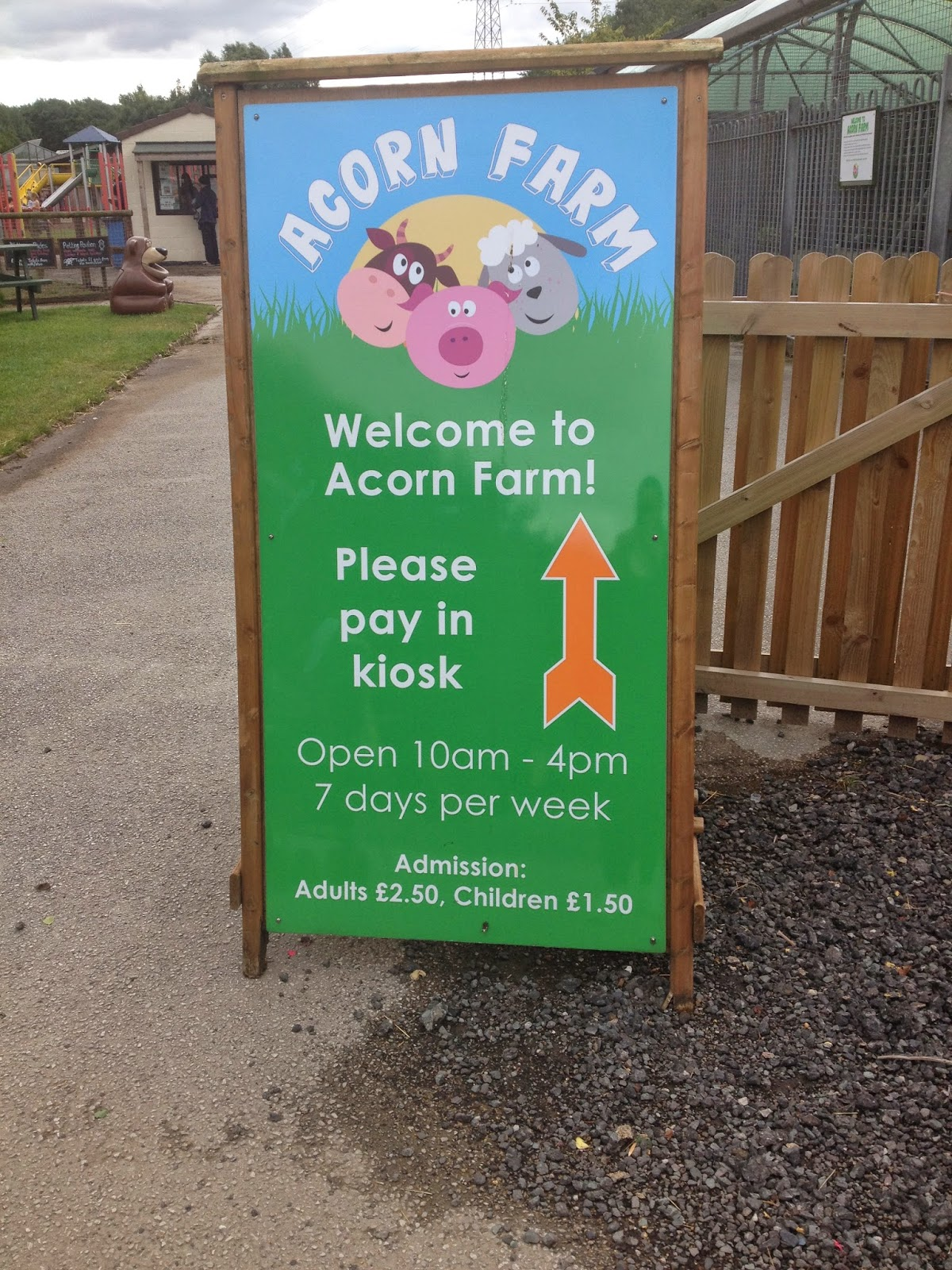 A Family Day Out At Acorn Farm