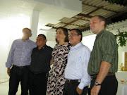 A prefeitura de Alcântaras tendo a frente o prefeito eleito na eleição .