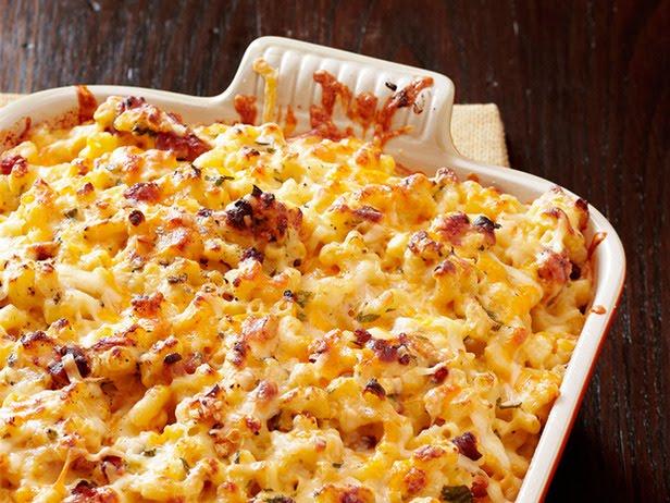 Bobby Flay Recipes: Bobby Flay's Macaroni and Cheese Carbonara