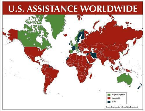 EconomicPolicyJournalcom A Lesson In Empire Building The Use Of - Us military bases overseas map
