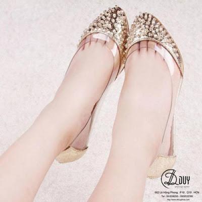 Tư vấn chọn giày cho cô dâu trong ngày cưới