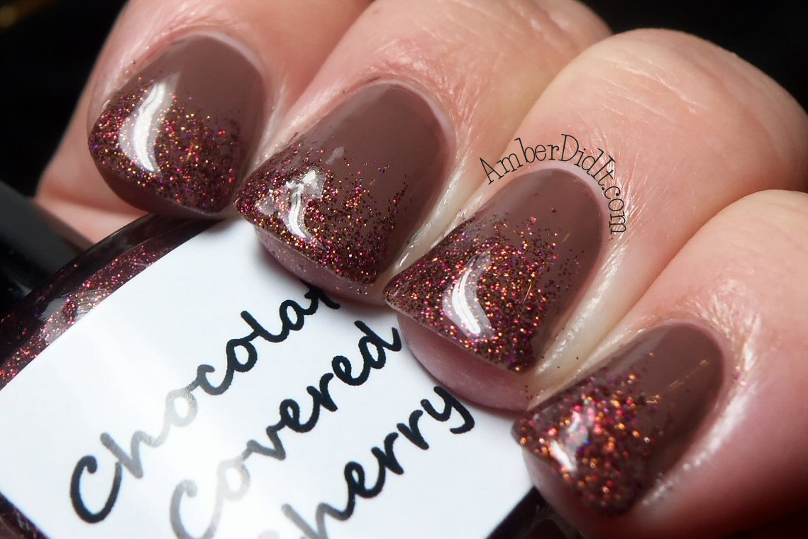 Amber did it!: Bad Ass Polish~Chocolate Covered Cherry~Swatch and ...