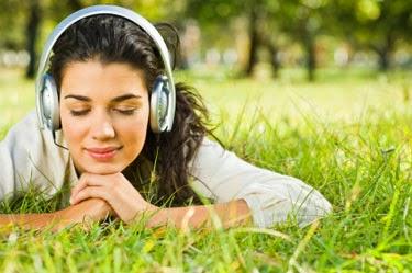 Ouvindo músicas