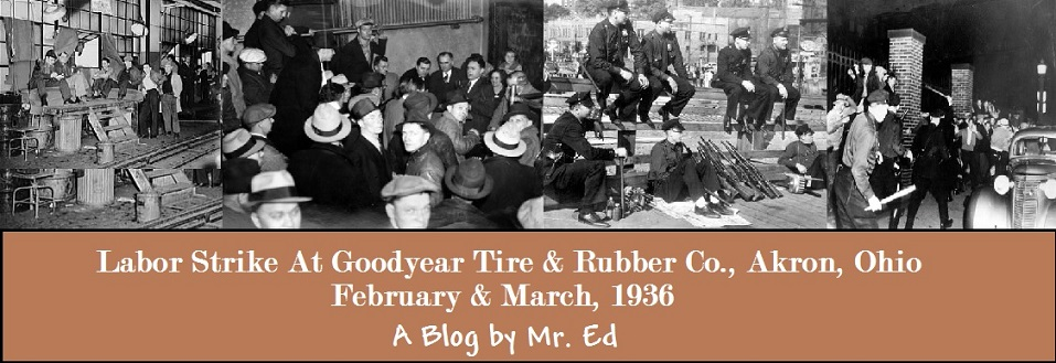 Goodyear Rubber Co. Strike, 1936