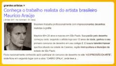 Maurício Fortunato Araújo é destaque no site DESENHO ONLINE. Confira!