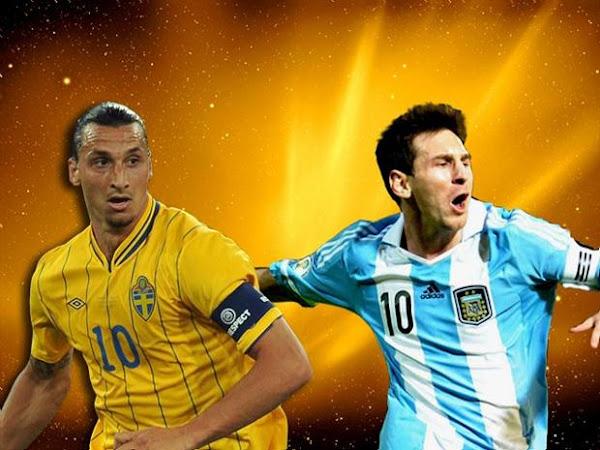InfoDeportiva - Informacion al instante. SELECCIONES SUECIA VS ARGENTINA. Horarios, Resultados, Estadisticas, Online