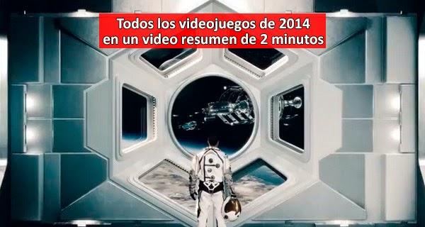 Video resumen con todos los videojuegos lanzados en 2014