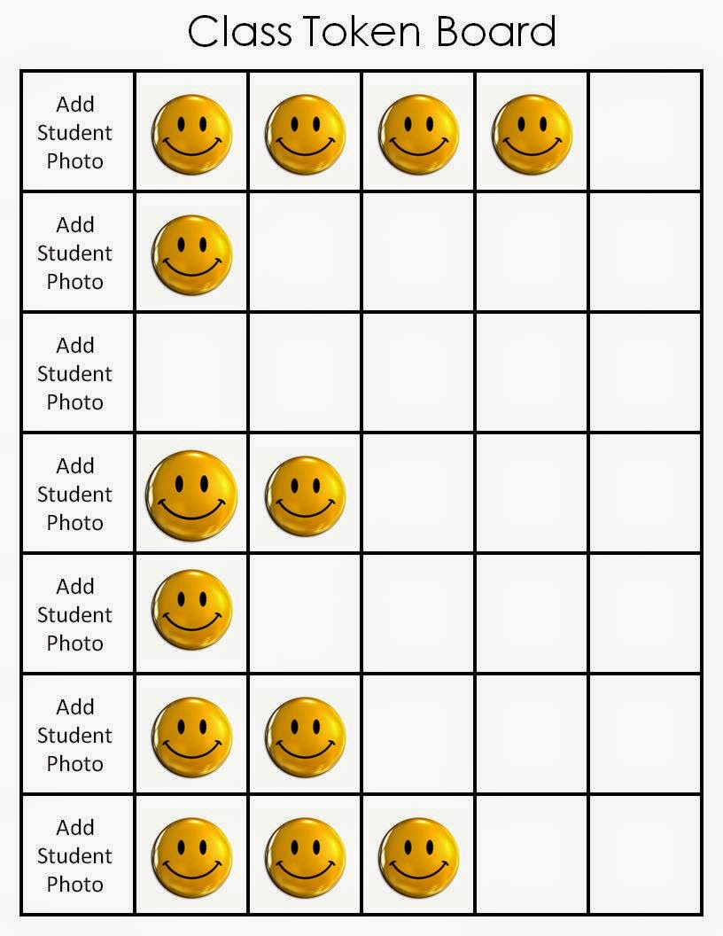 photo regarding Token Board Printable referred to as The Bender Bunch: Having Token Forums within just the Clroom
