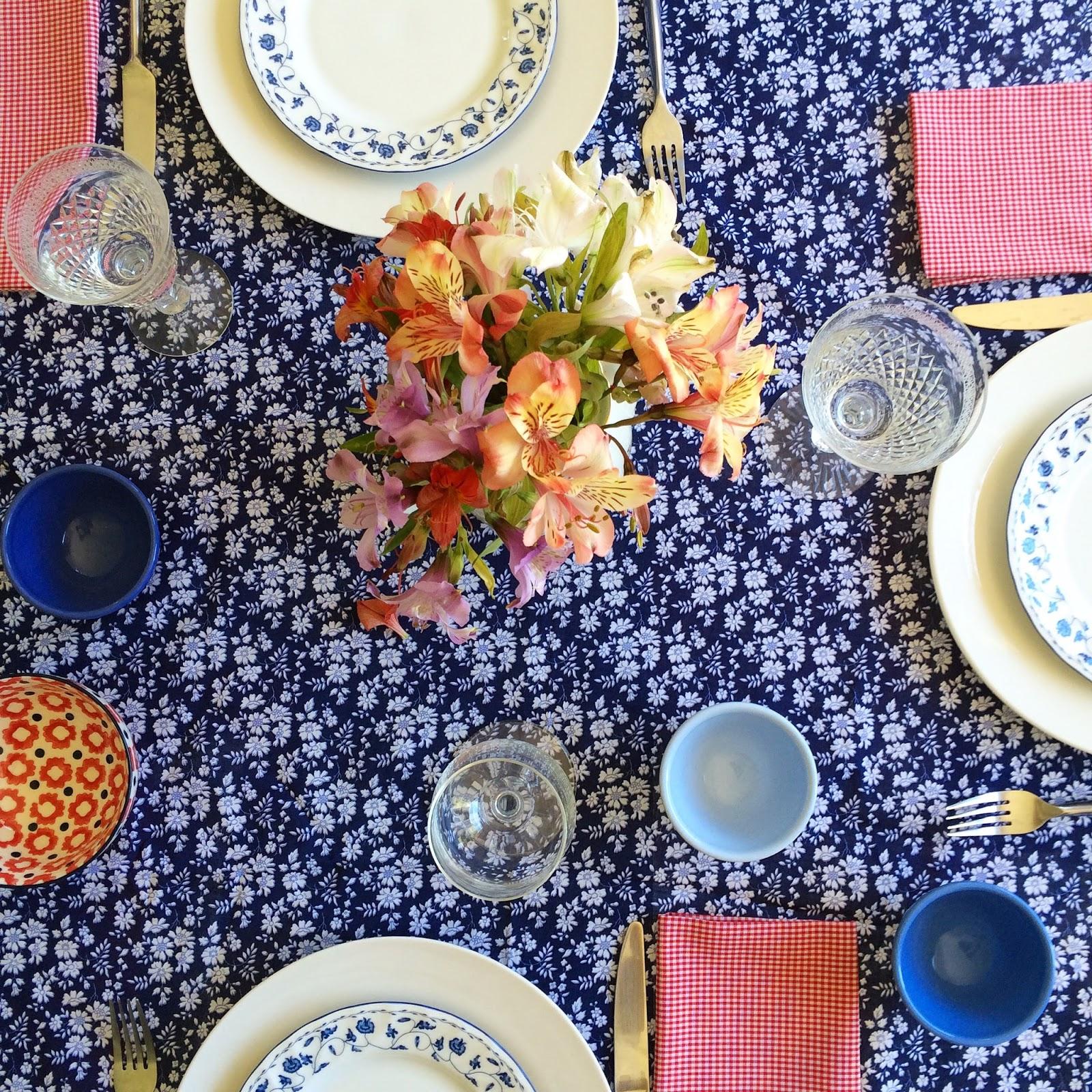 Poné linda tu mesa, ponete feliz!