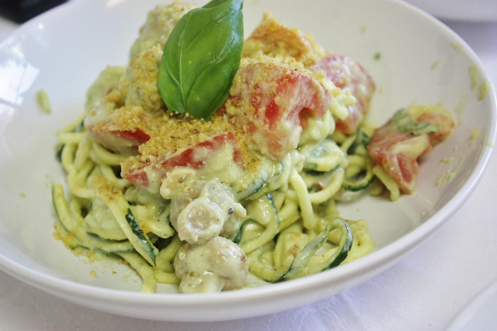 This rawsome vegan life creamy zucchini pasta avocado soup creamy zucchini pasta avocado soup forumfinder Gallery