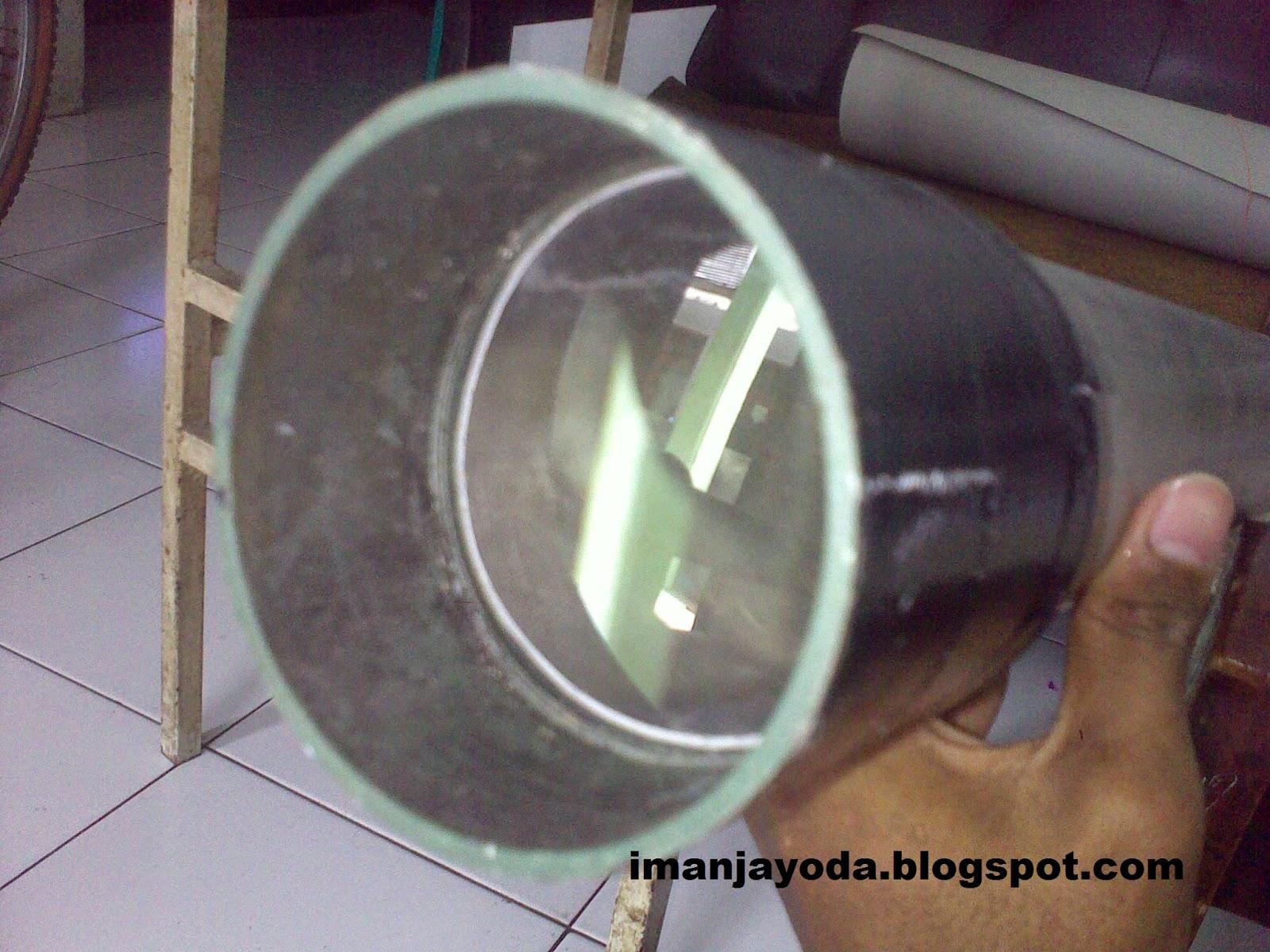 Belajar membuat teleskop bintang sederhana iman jayoda