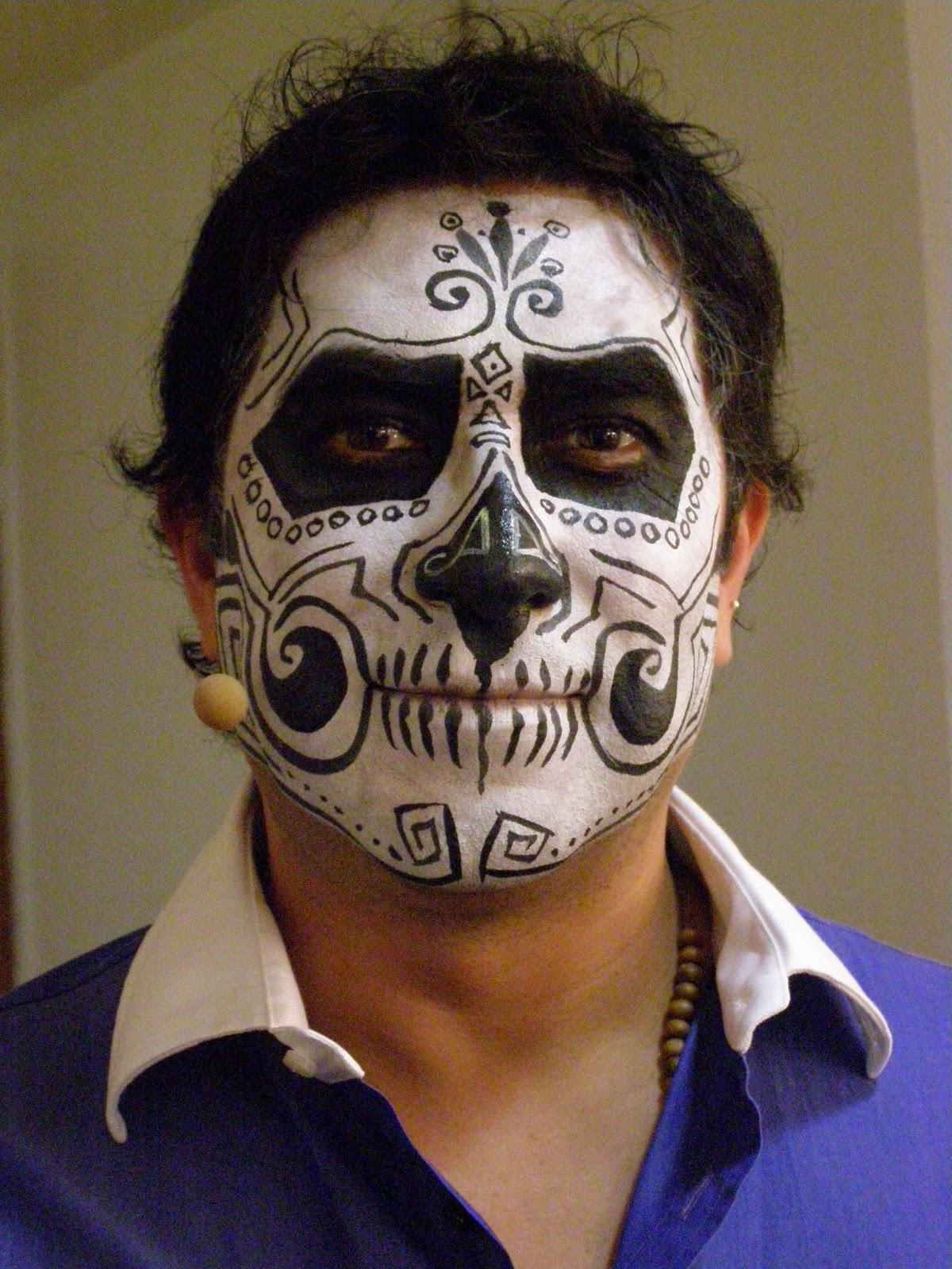 Apel fx maquillaje fantasia - Maquillage dia de los muertos ...