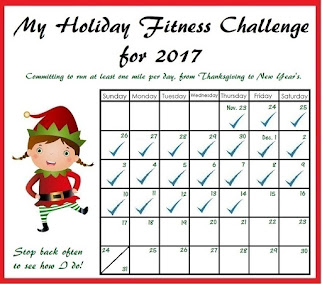 My Holiday Fitness Challenge for 2017