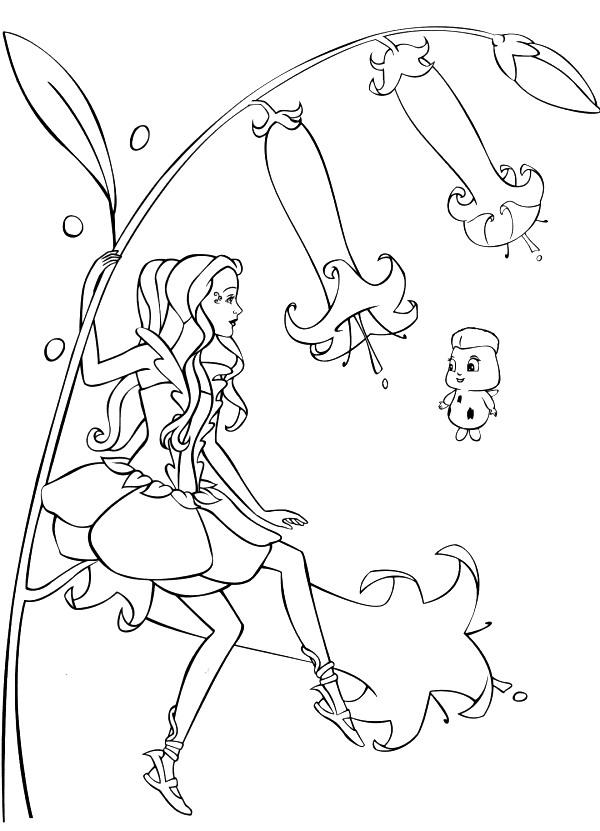 Ausmalbilder Barbie Fairytopia Zum Ausdrucken