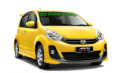 Promosi Tahun Baru 2014 - Perodua Myvi 1.5 (manual) Extreme