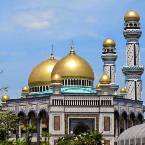 Masjid Jami Asr Hasanil Bolkiah - Kampong Kiarong - Brunei Darussalam
