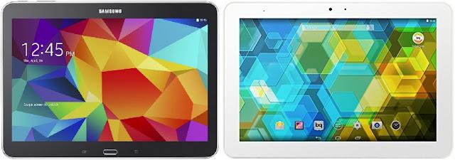 Samsung Galaxy Tab 4 10.1 (2015) vs Fnac Tablet 4.0 10,1