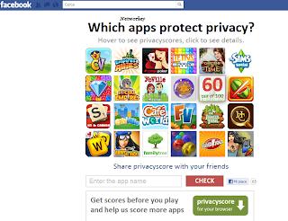 privacy facebook applicazioni
