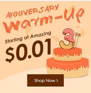 Anniversary warm-up