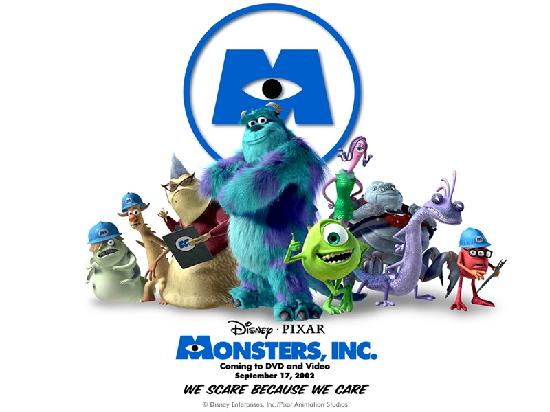 Monsters, Inc. poster animatedfilmreviews.filminspector.com