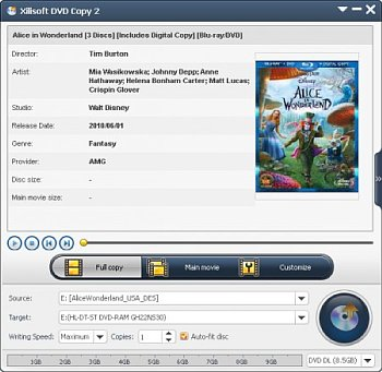 Xilisoft DVD Copy 2.0.1.0112