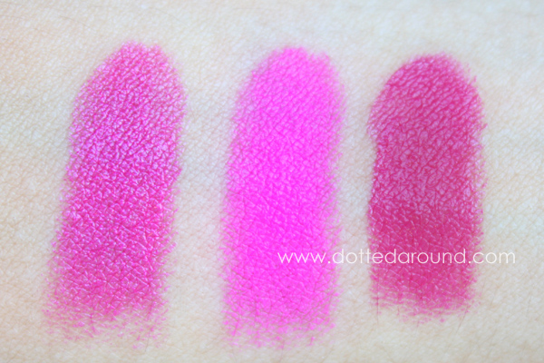 Mac candy yum yum comparison show orchid girl about town