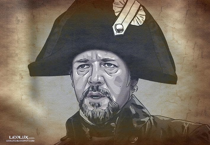 ©leolux. Dibujo e Ilustracion. Fotogramas | Photograms. Russell Crowe. The Miserables
