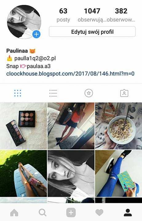 Zapraszam na mojego instagrama!