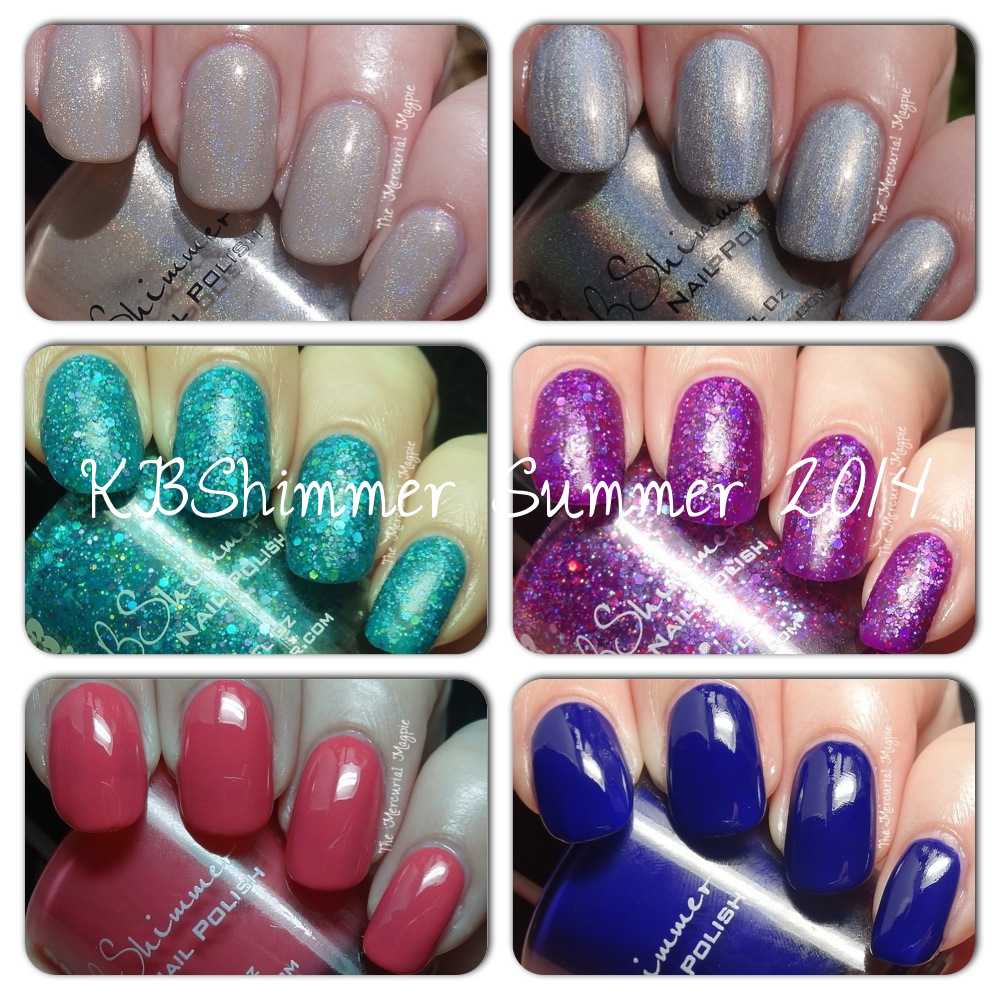 KBShimmer Summer 2014 Collection [partial] Swatches & GIVEAWAY!