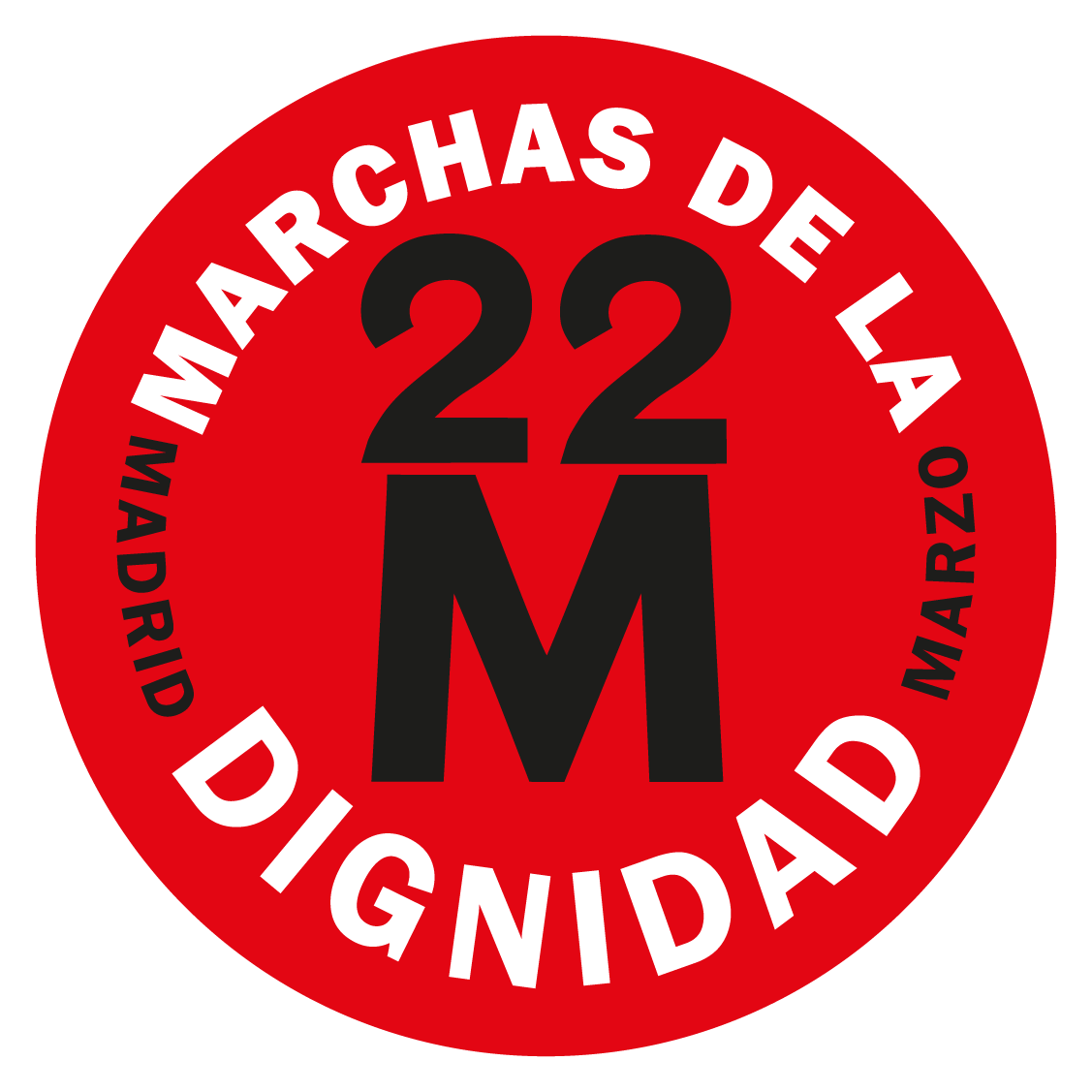 22M MARCHAS POR LA DIGNIDAD