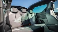 Citroën DS3 Cabrio back interior