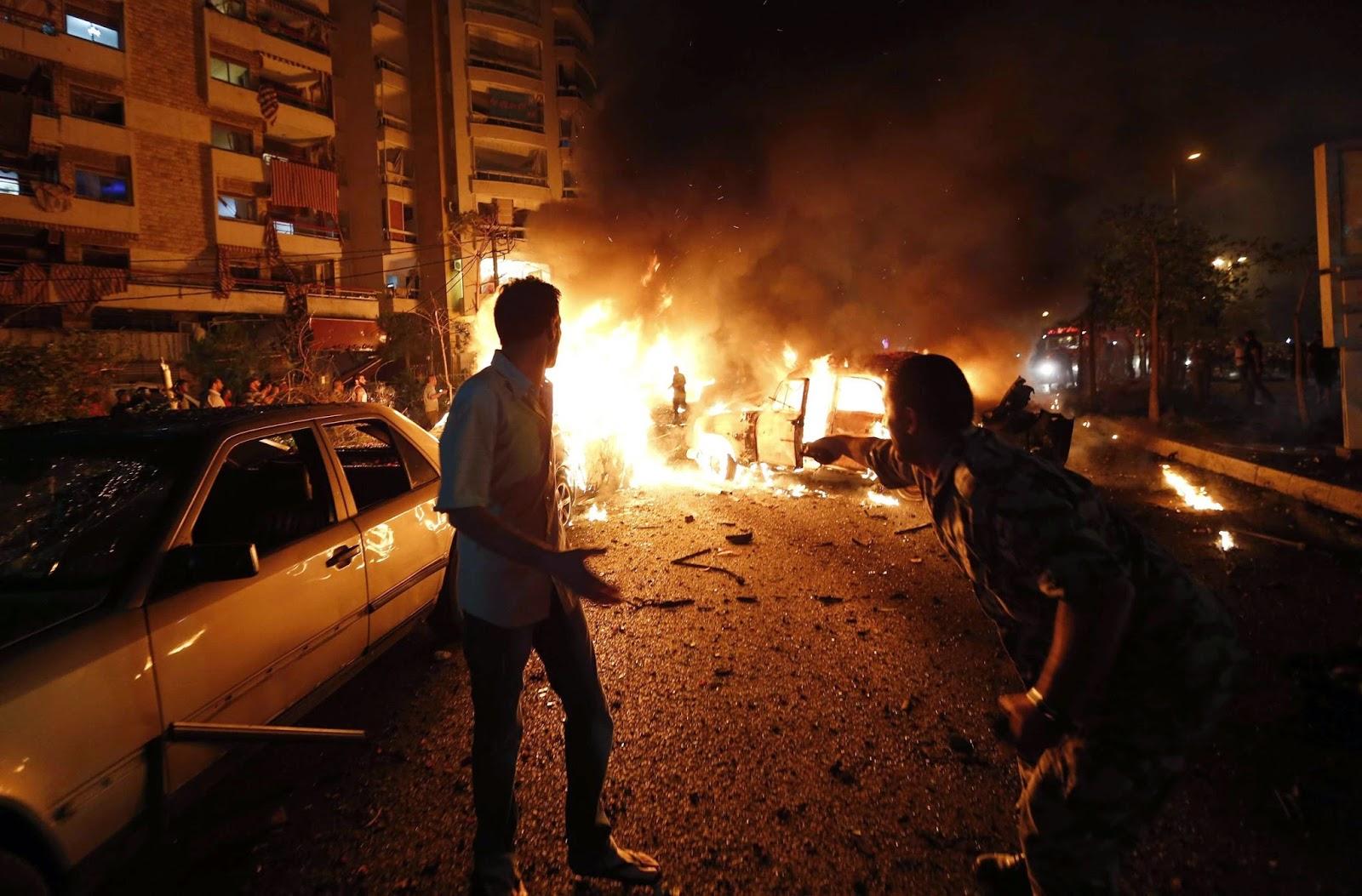 Terror blast in Dahiyeh
