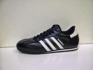 Sepatu Adidas Samba Murah lis putih