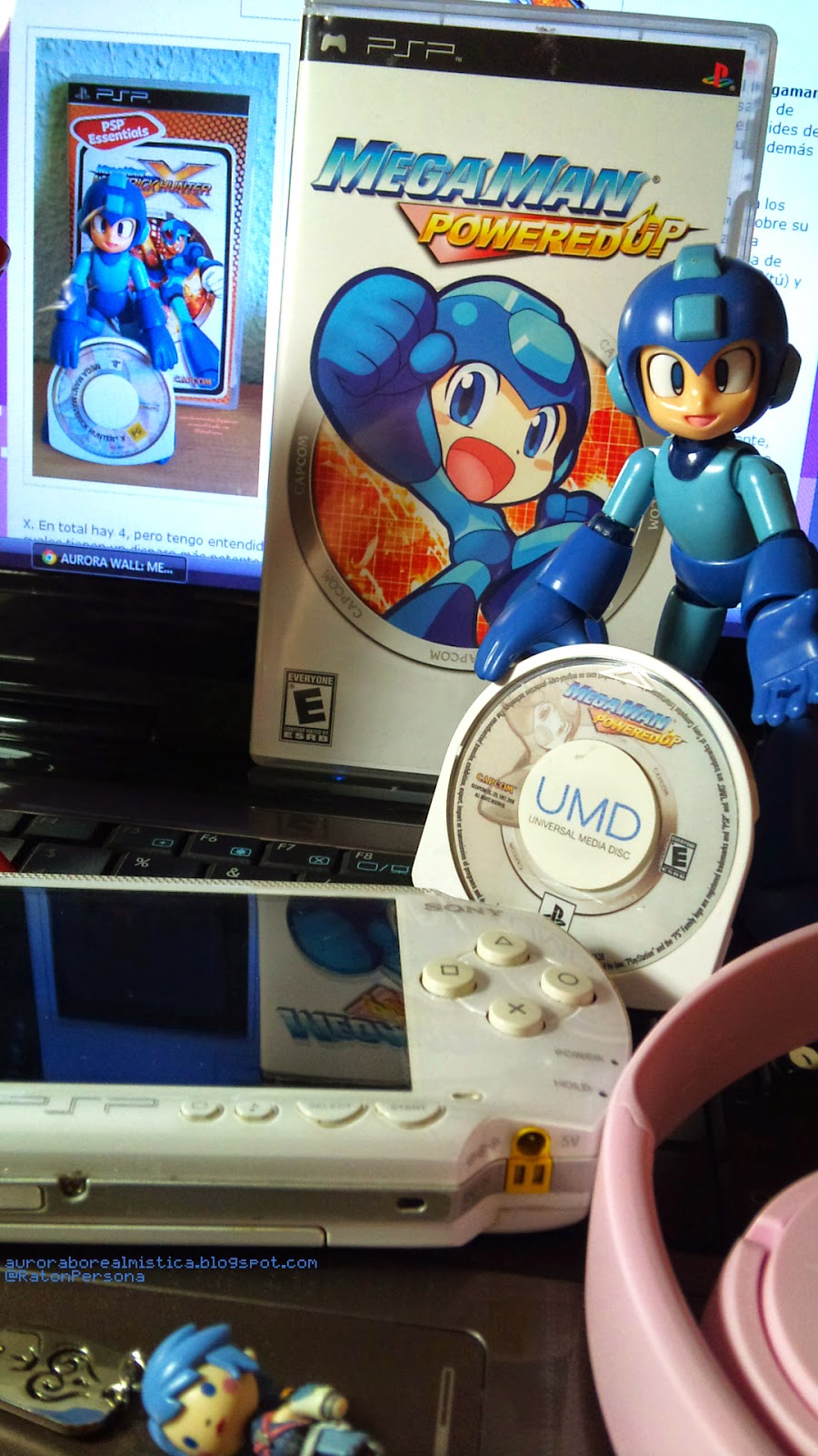 AURORA WALL: MEGAMAN Powered Up -PSP review-
