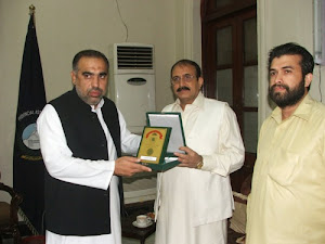 With Speaker Mr.Asad Qaiser