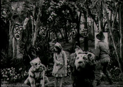 "Scene from ""The Wonderful Wizard of Oz"""