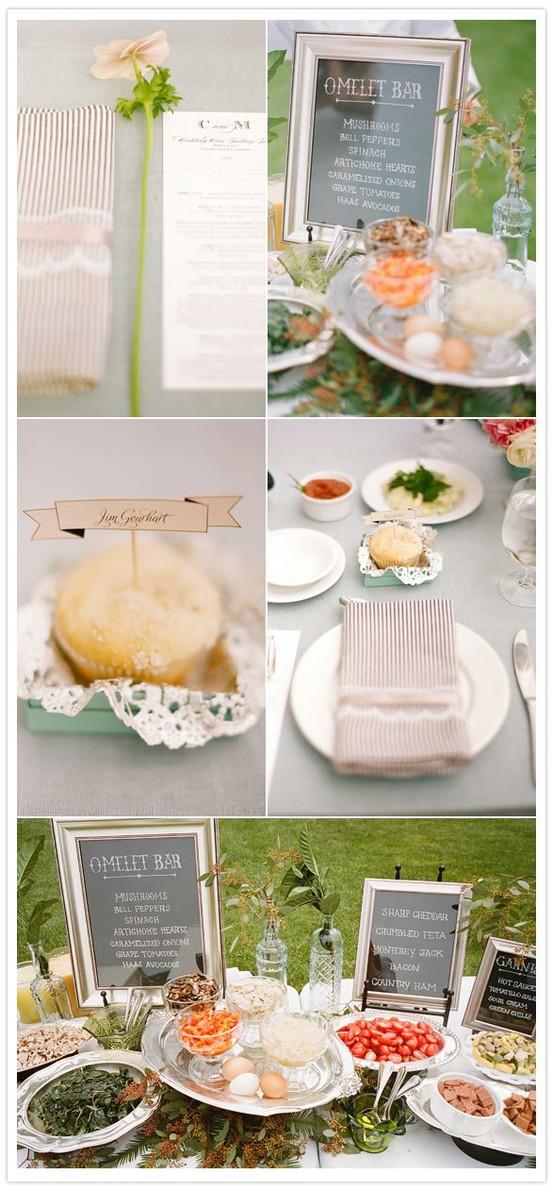 Greer Loves Brunch Wedding Inspiration Menu Ideas