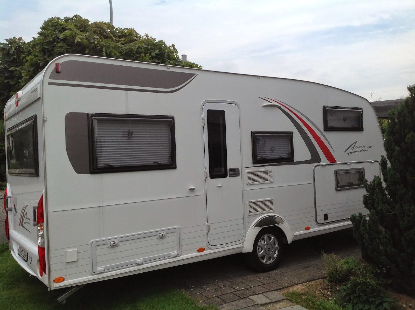 Wohnwagen Bürstner Averso 510TK zu verkaufen