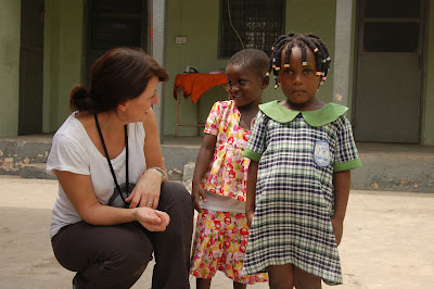 Postcard from Ghana with Davina McCall