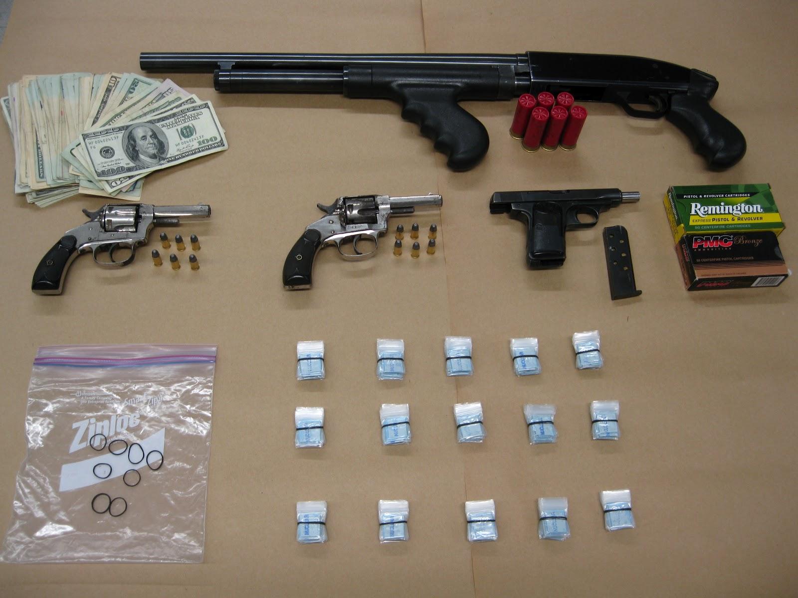 Police Arrest 17 Seize Drugs Guns And Money