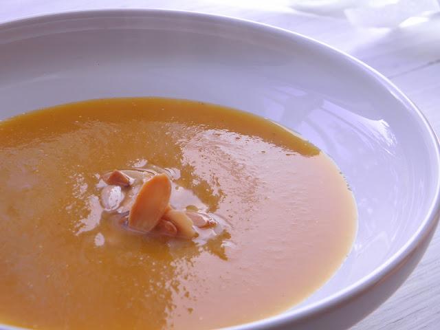 dýňová krémová polévka bez lepku bez laktózy paleo