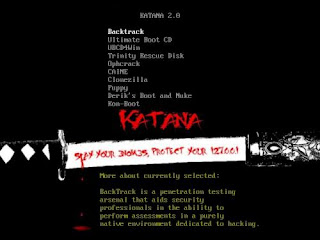 How to Use Katana USB Boot Security Suite