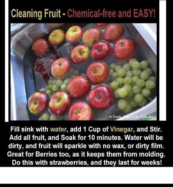 Wash Fruit