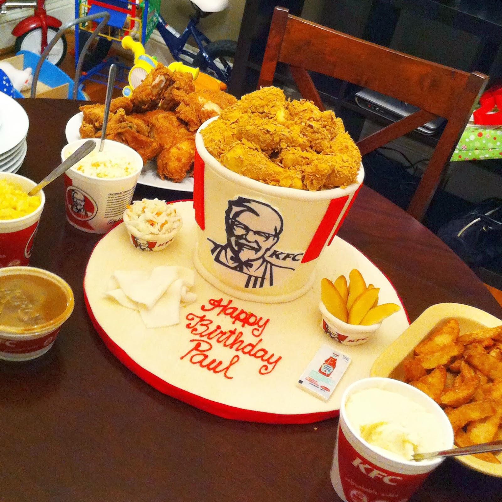 Spot the KFC cake