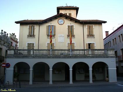 La Torre Lligé actual Ajuntament de Cardedeu. Autor Carlos Albacete